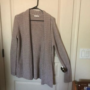Honey Punch Light Pink Knit Cardigan